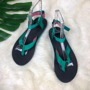 Teva Women's Original Sandals Sport Pink Aqua